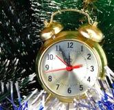 Réveillon de la Saint Sylvestre. Avant la nouvelle année cinq minutes. Photo stock