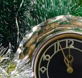 Réveillon de la Saint Sylvestre. Avant la nouvelle année cinq minutes. Photos stock