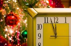 Réveillon de la Saint Sylvestre Avant la nouvelle année cinq minutes Photographie stock