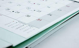 31 réveillon de la Saint Sylvestre, les préparations de nouvelle année Photos stock