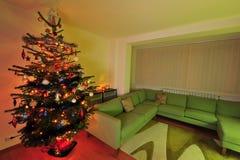 Réveillon de Noël à la maison Images stock