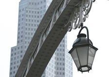 Réverbère à Singapour Images libres de droits