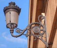 Réverbère à Valence, Espagne photographie stock libre de droits
