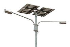 Réverbère actionné solaire photos libres de droits