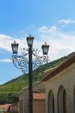 Réverbère dans Mtskheta Photo libre de droits