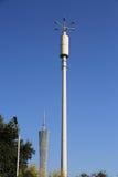 réverbère moderne, appareil d'éclairage de route décorative, réverbère, lampe de route images libres de droits