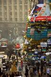 Révolution à Kiev Images libres de droits