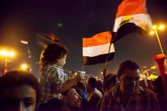 Révolution égyptienne Photo stock