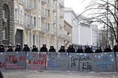 Révolution Advantages_52 de Kyiv Maidan Image libre de droits