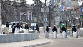 Révolution Advantages_51 de Kyiv Maidan Images libres de droits
