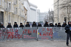 Révolution Advantages_57 de Kyiv Maidan Photos libres de droits