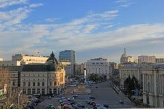 Révolution Bucarest carrée Roumanie Photographie stock libre de droits