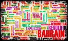 Révolution du Bahrain Images stock