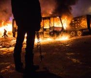 Révolution en Ukraine Image libre de droits