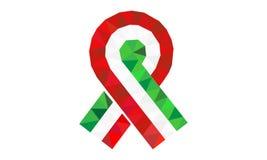 Révolution hongroise de 1848, le 15 mars, tricolore Images libres de droits