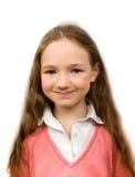 Rêvant la petite fille d'isolement Photos libres de droits