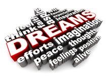 rêve illustration de vecteur