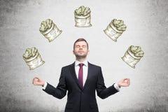 Rêve au sujet d'argent images stock