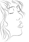 Rêve au sujet de baiser Images stock