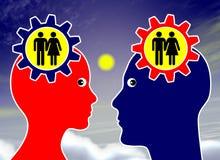 Rêve au sujet du mariage  Images libres de droits