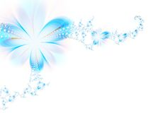 Rêve bleu Images stock