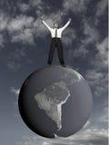 Rêve d'affaires. Image libre de droits
