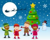 Rêve de Noël Photographie stock libre de droits