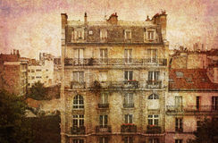 Rêve de Paris Images libres de droits