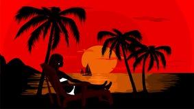 Rêve de Summerr Image libre de droits