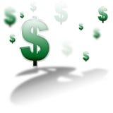 Rêve du dollar Image libre de droits