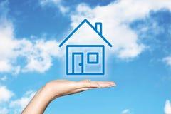 Rêver d'une maison Photos libres de droits
