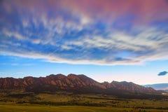 Rêver de Boulder le Colorado Image libre de droits