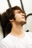 Rêver de jeune homme Image libre de droits