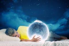 Rêver de nuit Photo libre de droits