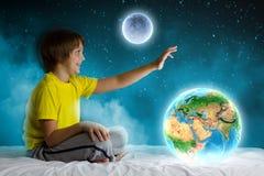 Rêver de nuit Photographie stock libre de droits