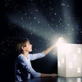 Rêver de nuit Images libres de droits