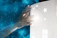 Rêver de nuit Photos libres de droits