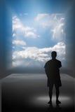 Rêver l'écran de visibilité d'A illustration de vecteur
