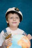 Rêver l'enfant Images libres de droits