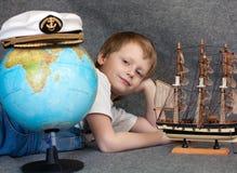 Rêver l'enfant Image stock