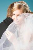 Rêver la jeune mariée Images stock