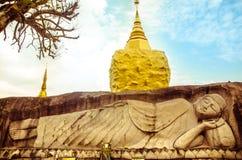 Rêver le temple en Thaïlande Images stock