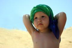 Rêver sur la plage Photos stock