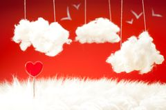 Rêves au sujet de l'amour Photos stock