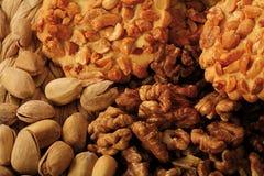 Rêves d'écrous de biscuit photographie stock libre de droits