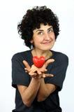 Rêves de femme sur l'amour Photos libres de droits