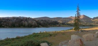 Rêves de lac Photo libre de droits