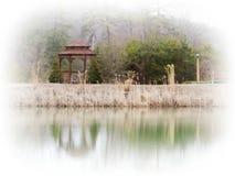 Rêves de terre de lac Photos libres de droits