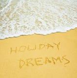 Rêves de vacances Photographie stock