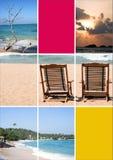 Rêves de vacances - Images libres de droits